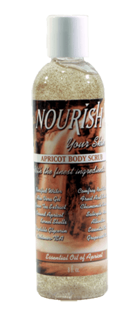 Nourish Apricot Body Scrub