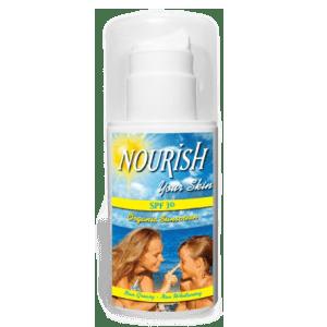 Nourish Your Skin Organic Sunscreen