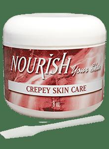 Nourish Skincare Products-CREPEY SKIN JAR
