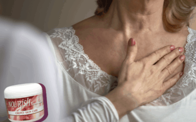 How to avoid crepey skin on neck, throat, and arms