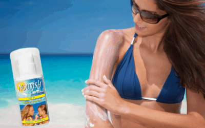 Protect your skin from harmful rays year-round with natural sunscreens from Nourish Skin Care Products